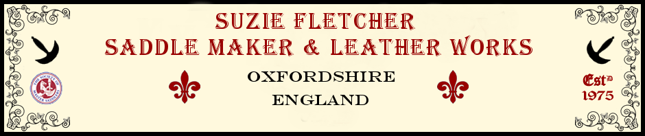 Suzie Fletcher Master English Saddle Maker