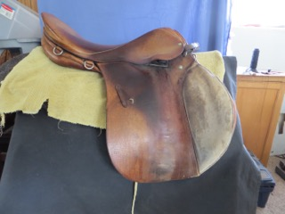 Saddle repair examples | Suzie Fletcher Master Saddle Maker